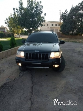 Jeep in Baalback - Grand cherokee 2001 look 2004