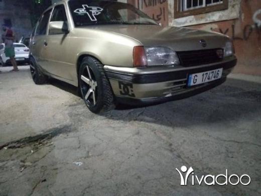 Opel in Tripoli - Opel kadet
