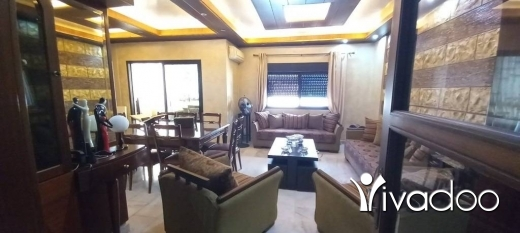 Apartments in Haret Sakhr - L08469-A Nicely Furnished and Decorated Apartment for Sale in Haret Sakher - Cash!
