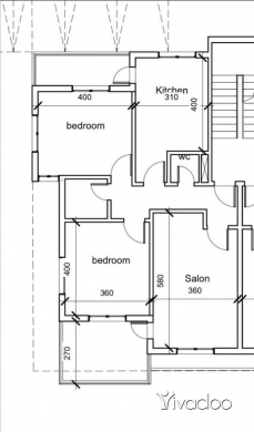 Apartments in Nabatyeh - شقة ٤ غرف منطقة النبطية، تول الجبل مع حديقة