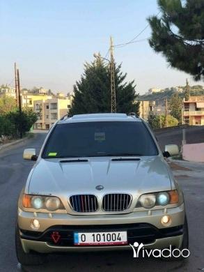 BMW in Damour - Bmw w x5 4.4 i X-Drive Model 2001 look 2004