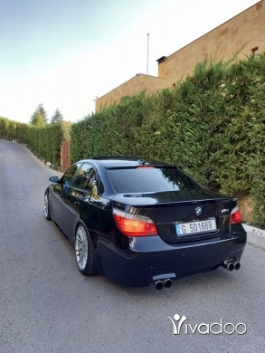 BMW in Beirut City - E60 545 2005