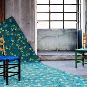 Forbo Flotex inspired by Van Gogh tapijt