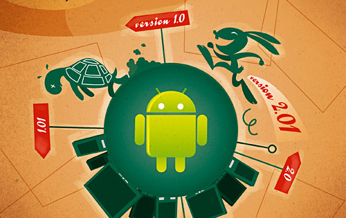 The Tortoise and the Hare: The tale of Android evolution
