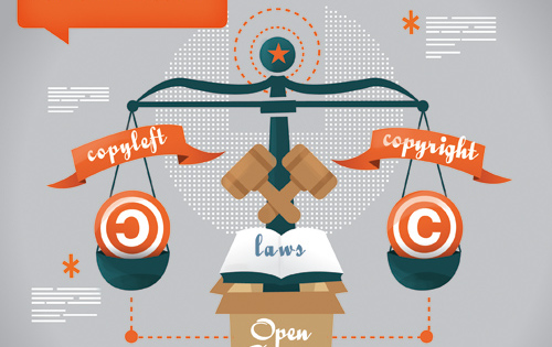 The Open Source trials: hanging in the legal balance of copyright and copyleft