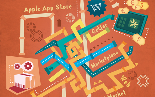 Developer Economics 2011 - Why app stores are a one-way street