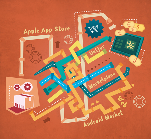 Developer Economics - Why app stores are a one-way street