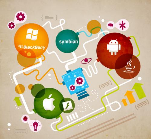 VisionMobile - Developer Economics 2011 - Platform race