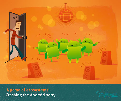 A game of ecosystems: Crashing the Android party