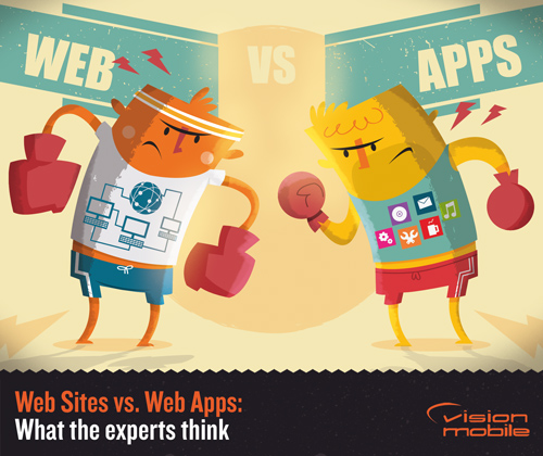 Web sites vs. web apps