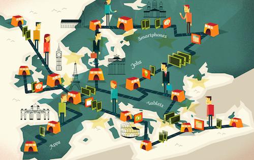 [Report] The EU App Economy: 530,000 jobs and rising