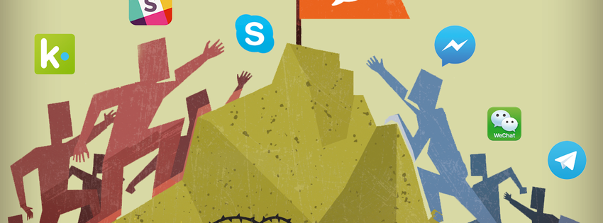 Messenger vs Skype vs Slack vs Telegram: How to spot the winners