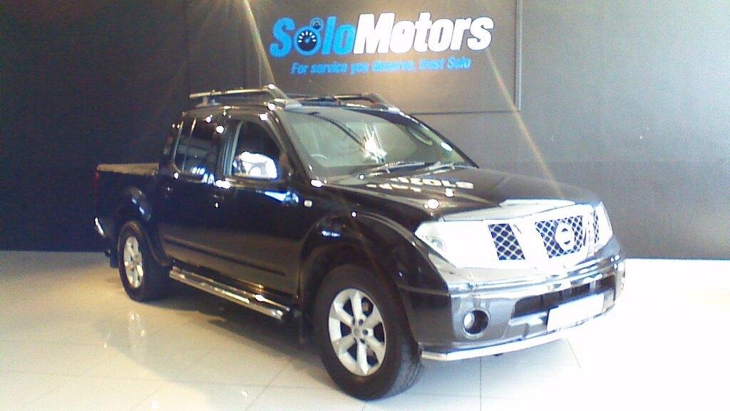 2006 Nissan Navara 4.0 V6 A/T P/U D/C