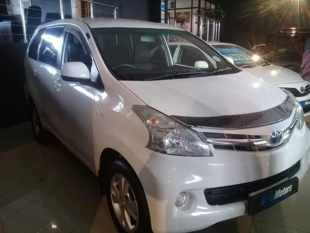 2013 Toyota Avanza 1.5 TX