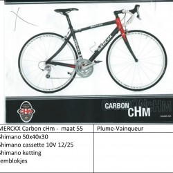 Eddy Merckx - Carbon cHm