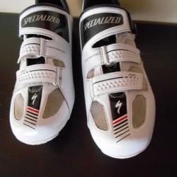 Specialized pro road white schoenen maat 45 4x gebruikt te klein voor me