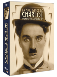 La Naissance de Charlot - The Keystone Comedies 1914 - Coffret 4 DVD