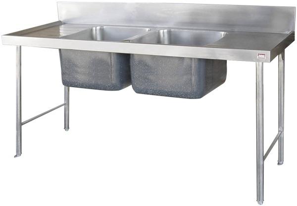 DCBPS Double Bowl Pot sink