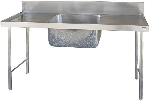 SCBS Single Bowl Preparation Sink