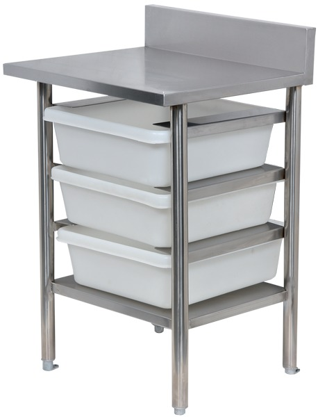 Chip Storage Table Plain Top