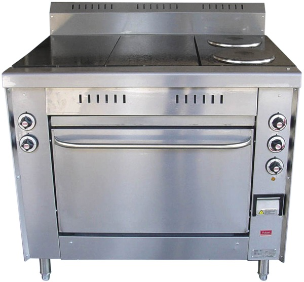 R-E2/2 2 Solid Top - 2 Solid Round Electrical Range with Oven