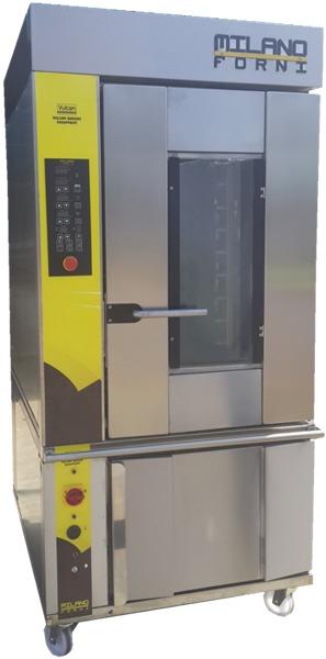 Milano Forni Mini Rotary Rack Oven - V10