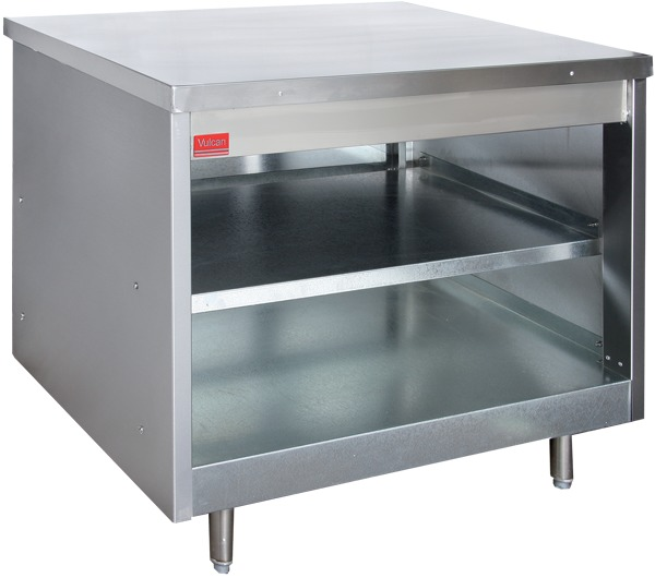 Counters unheated