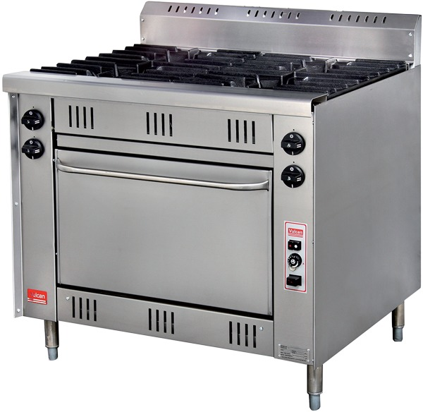 R-G4 - 4 Open Burner Gas Range with Oven