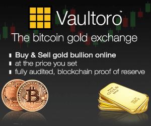 Vaultoro - Bitcoin Gold