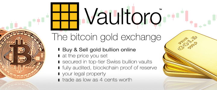 Vaultoro - Buy gold with bitcoin