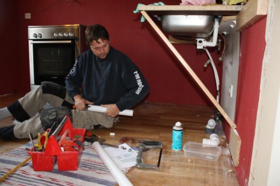 Renovering av kjøkken