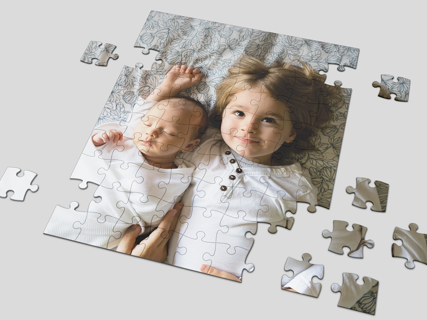 šablona Puzzle 19x24 cm 30 dílků