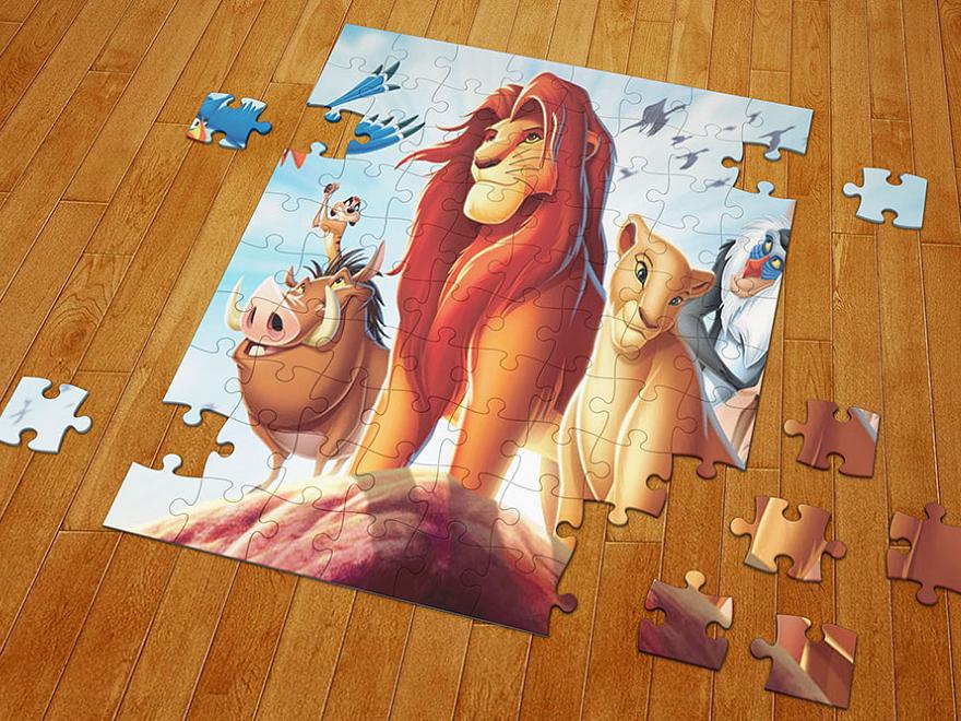 šablona Puzzle A4/120 dílků