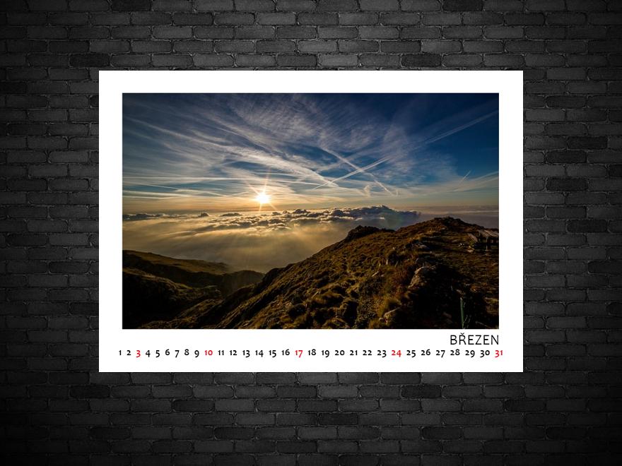 šablona Kalendář A4r SV1