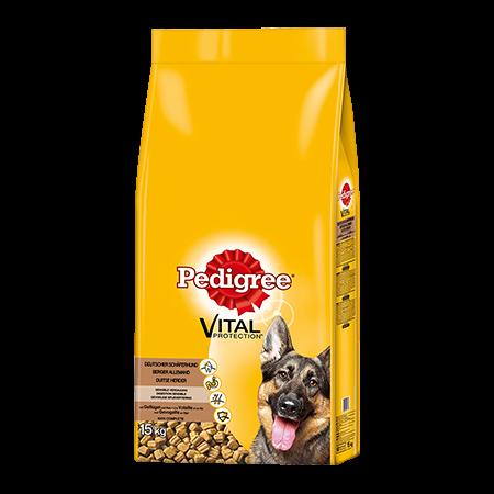 PEDIGREE® Complete Adult Deutscher Schäferhund mit Geflügel und Reis
