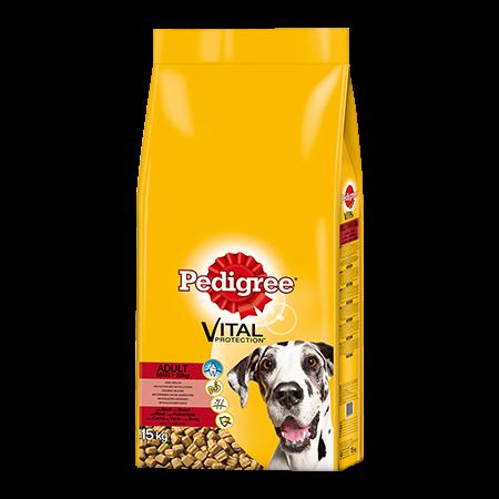 PEDIGREE® Complete Adult mit Rind & Reis, große Hunderassen