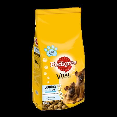 PEDIGREE® Complete Junior mit Huhn und Reis, große Hunderassen