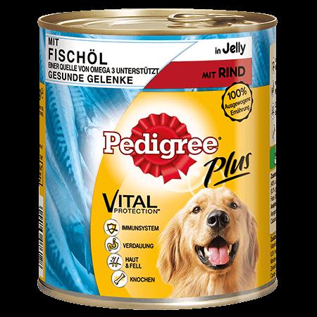 PEDIGREE® Dose Adult für Gelenke mit Fischöl - Rind