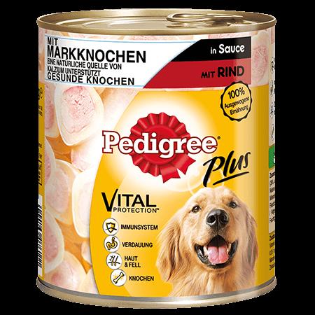 PEDIGREE® Dose Adult für Knochen mit Markknochen - Rind