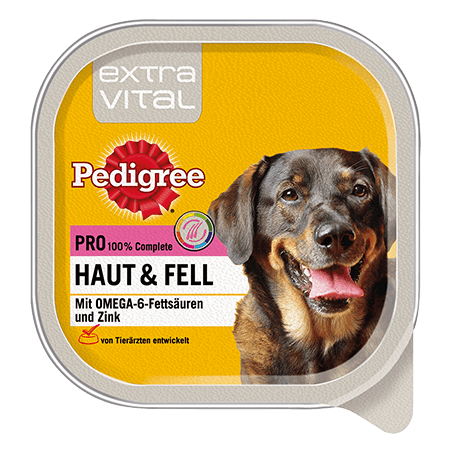 PEDIGREE® Schale Adult Extra Vital Pro Haut & Fell