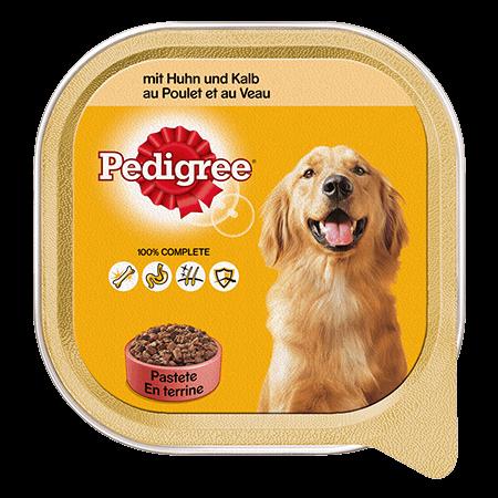 PEDIGREE® Schale Adult mit Huhn und Kalb