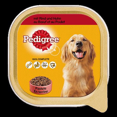 PEDIGREE® Schale Adult mit Rind und Huhn