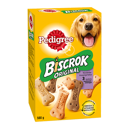 PEDIGREE® Snacks Biscrok