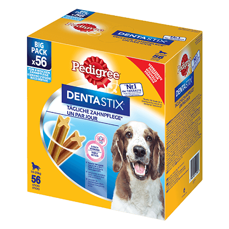 PEDIGREE® Snacks Dentastix™ Multipack medium 56St.