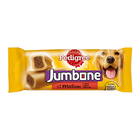 PEDIGREE® Snacks Jumbone medium 2Stk.