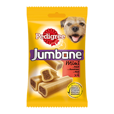 PEDIGREE® Snacks Jumbone Mini mit Rind 4St.