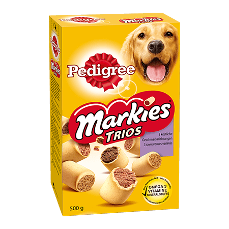 PEDIGREE® Snacks Markies Trio's