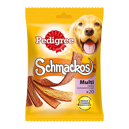 PEDIGREE® Snacks Schmackos 4 Sorten 20St.