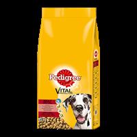 Pedigree Complete Adult mit Rind & Reis, große Hunderassen