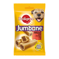 Pedigree Snacks Jumbone Mini mit Rind 4St.
